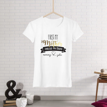 909cd9cc Personalised Mother'S Day Gift, Mother And Daughter, Gifts For Mother, Mama T  Shirt ...