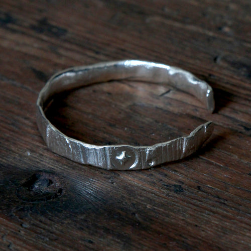 Floorboard Bangle by Willa Hilfreich