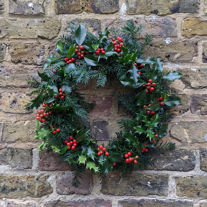 Harts Of Lee Handmade Wreath in Evergreen