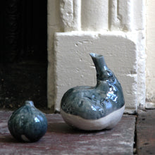 Load image into Gallery viewer, Natural Selection 'Autumnal Vessels': Small Porcelain Pumpkin Vase