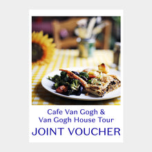 Load image into Gallery viewer, Guided Tour and Meal at Cafe Van Gogh for Two Gift Voucher