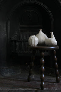 Natural Selection 'Autumnal Vessels': Large Porcelain Pumpkin Vase