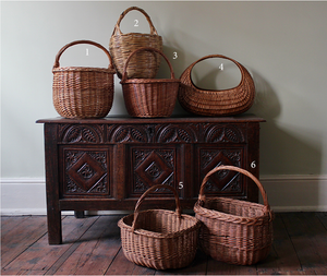 Vintage Straw Baskets