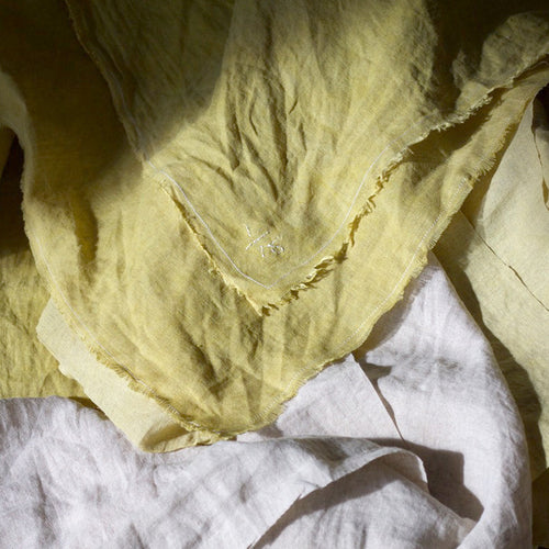 'A Letter To Yellow' Cawley Studio X  Grymsdyke Farm Limited Edition Scarves