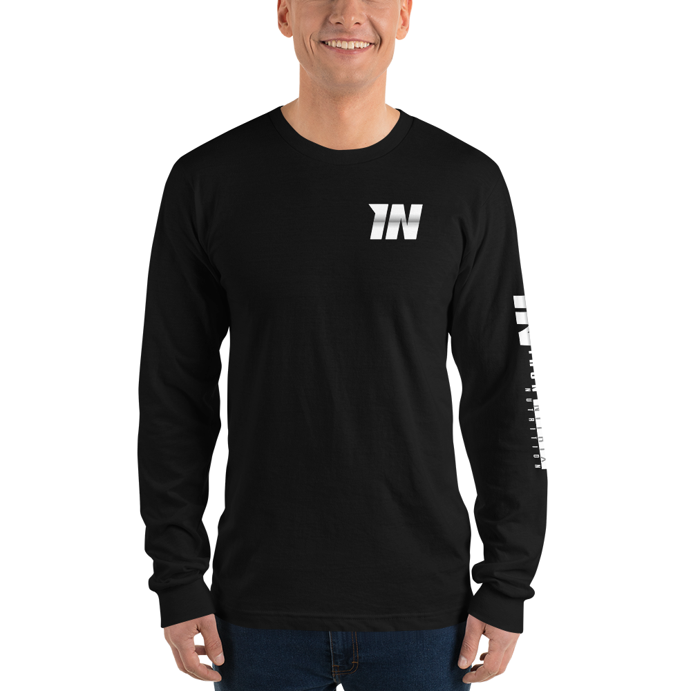 Unisex Long Sleeve Tee - Iron Nitrix Nutrition