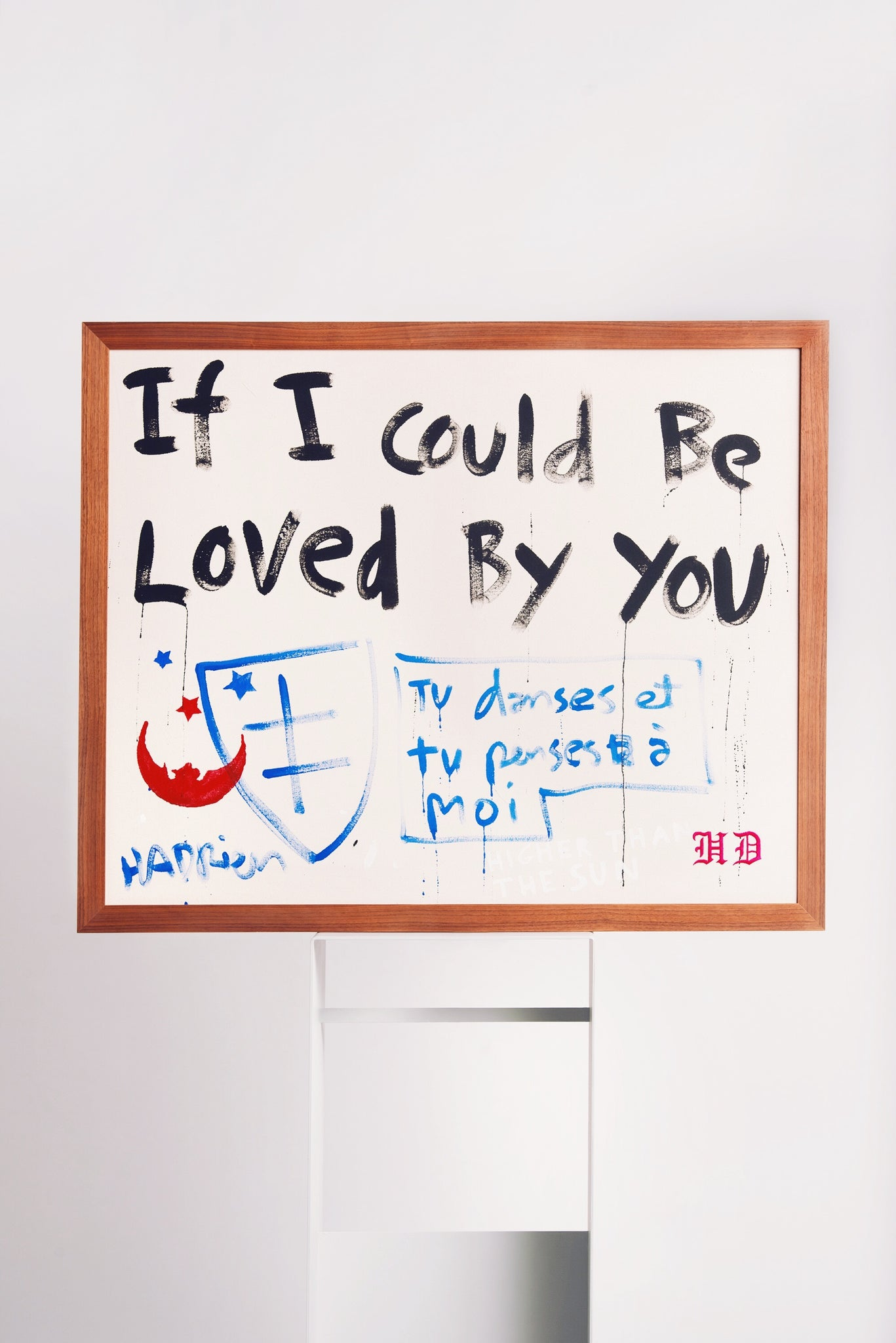 IF I COULD BE LOVED BY YOU Art