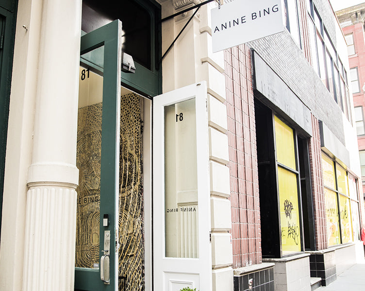 ANINE BING SOHO | NOW OPEN image