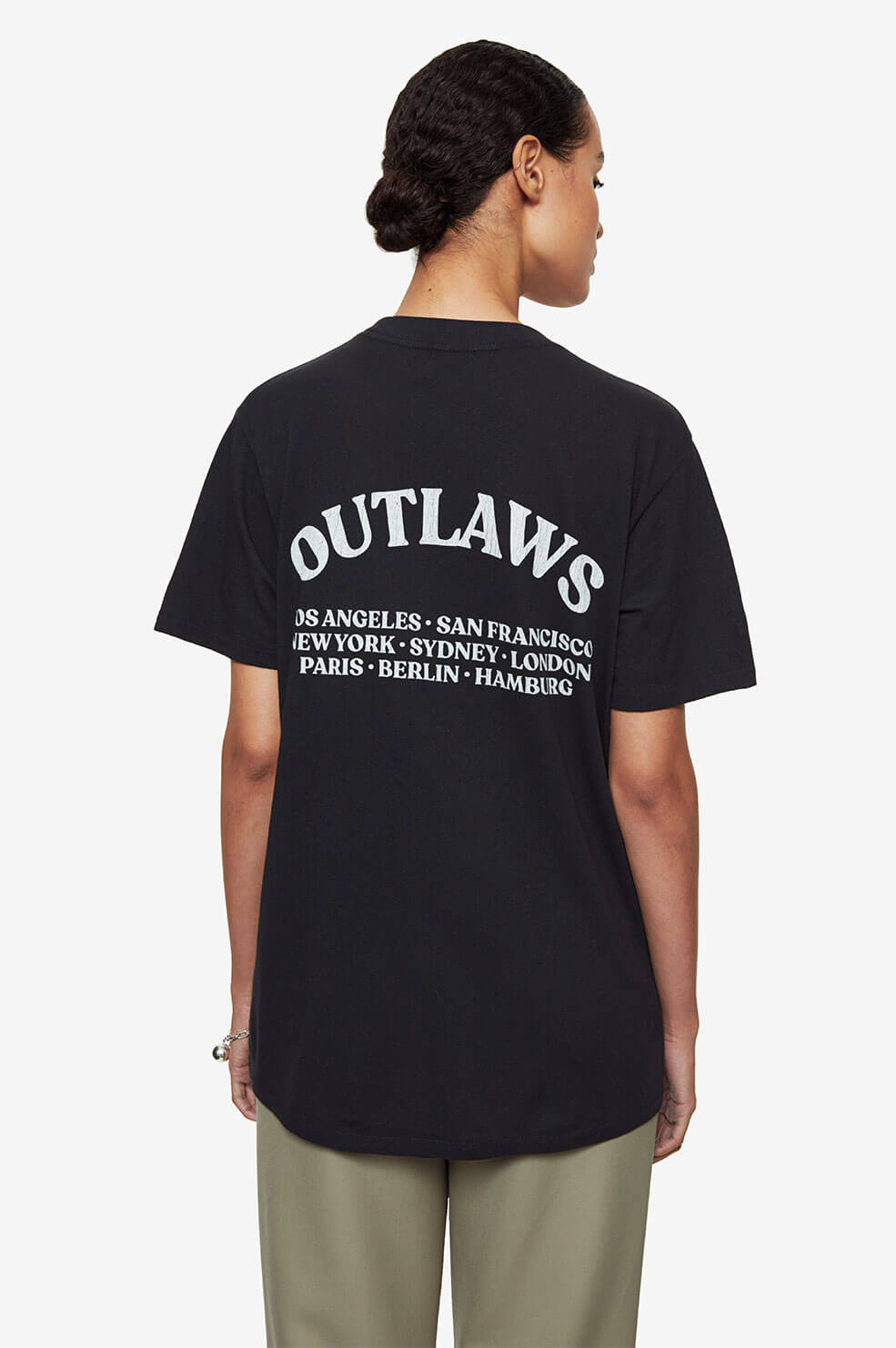 Lili Tee Outlaw - Washed Black