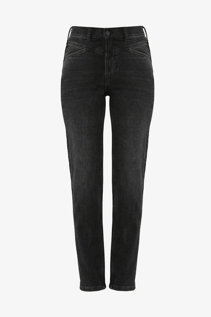 ANINE BING Mcgraw Denim - Black Granite