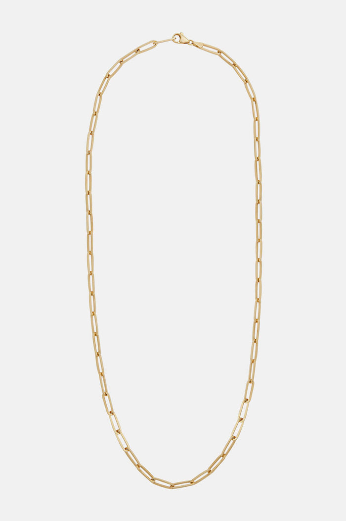 ANINE BING Long Link Necklace
