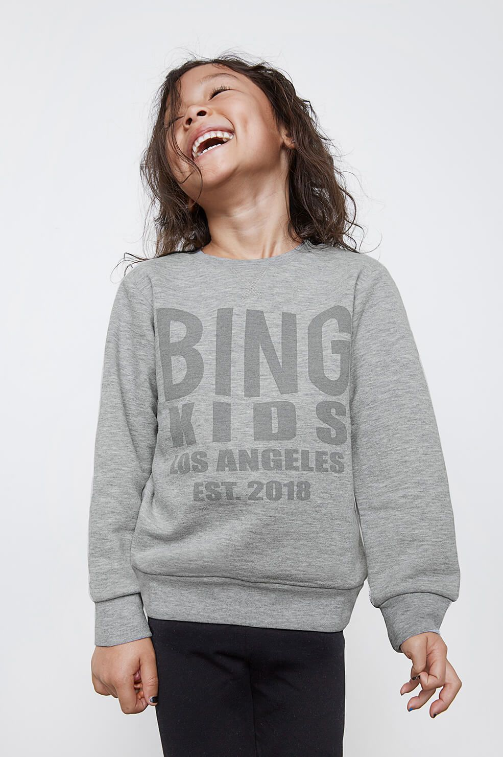 Bing Icon Sweatshirt - Blue