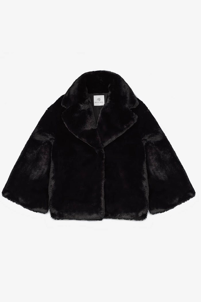 ANINE BING Calvin Coat - Black