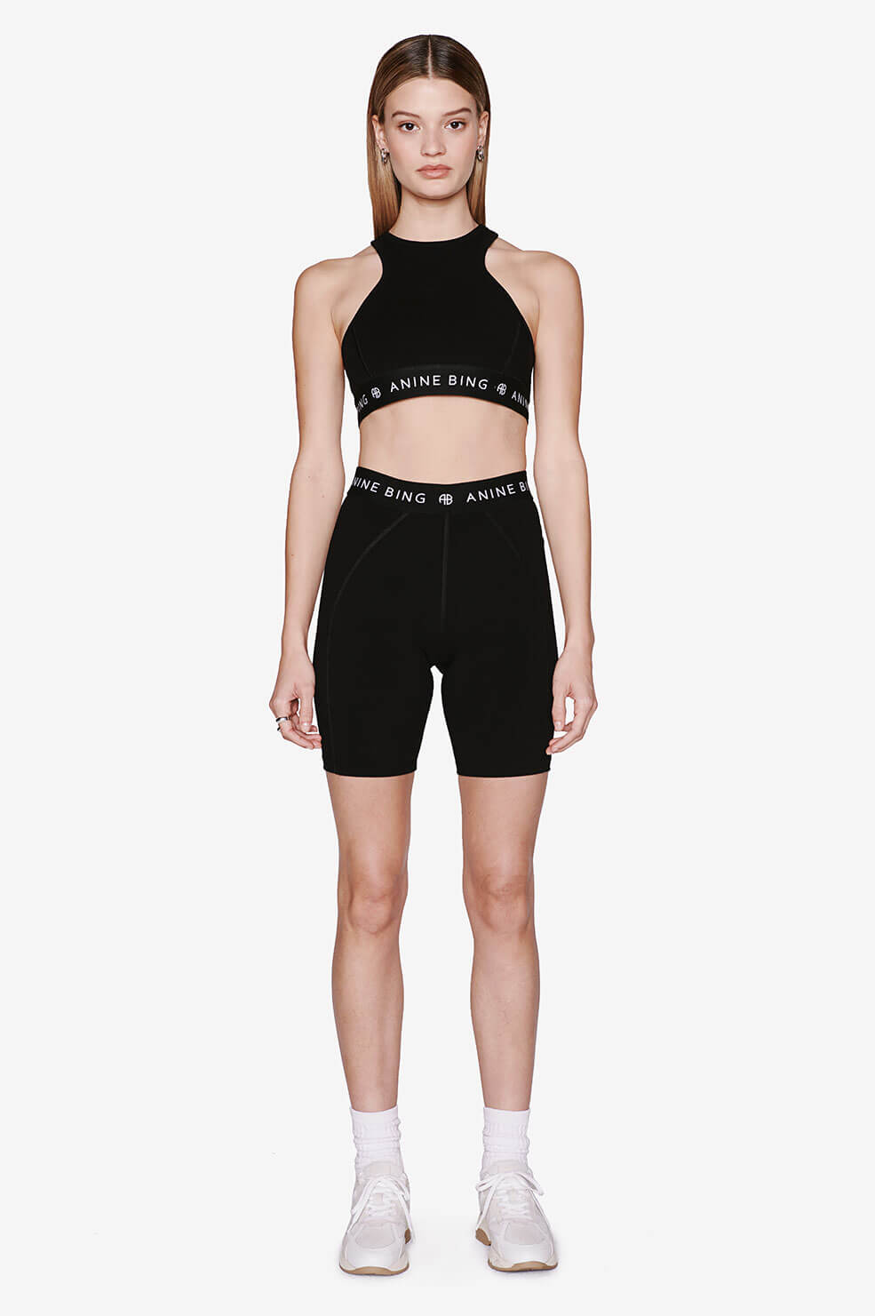 ANINE BING Carly Bike Short - Black