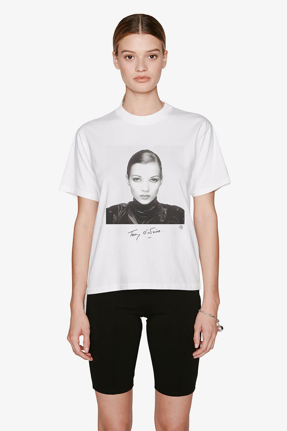 Ida Tee AB X TO Kate Moss - White