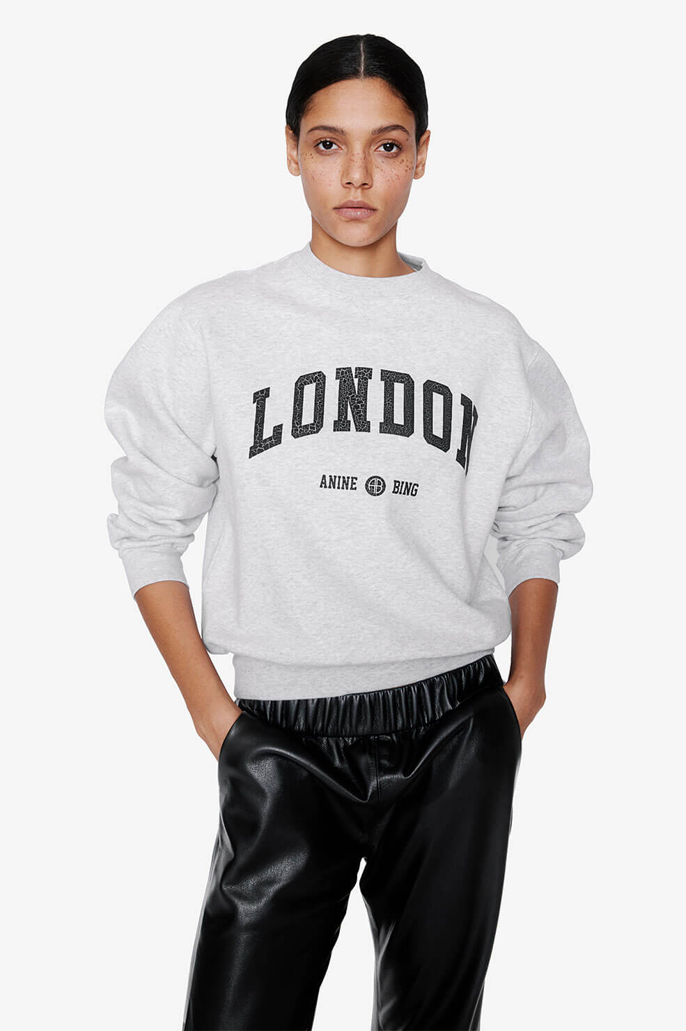Ramona Sweatshirt University London - Heather Grey