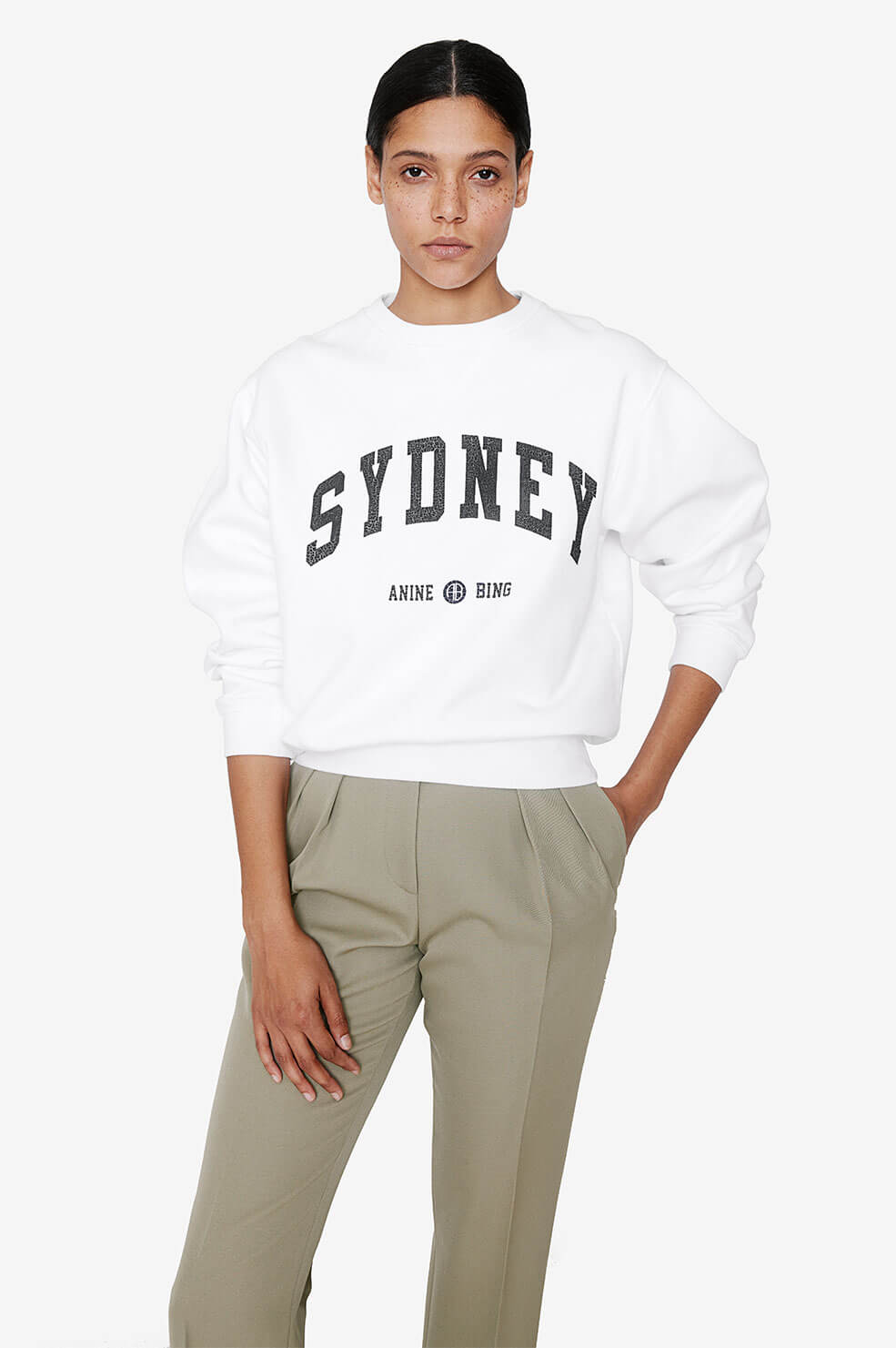 Ramona Sweatshirt University Sydney - White