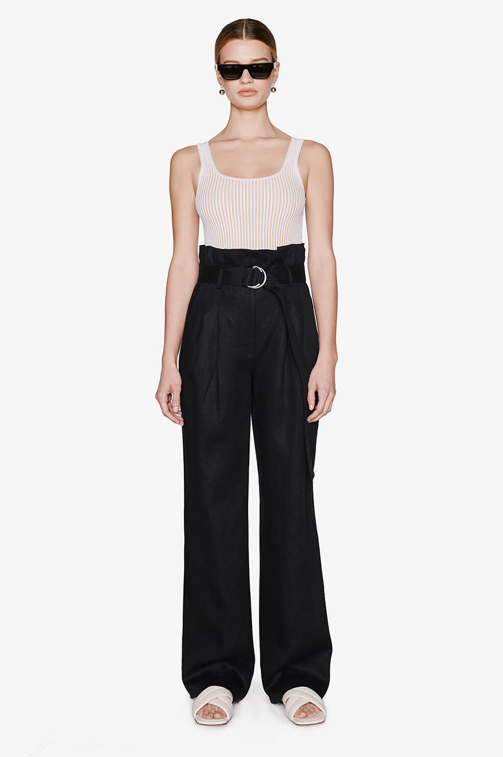 Thalia Trouser - Black
