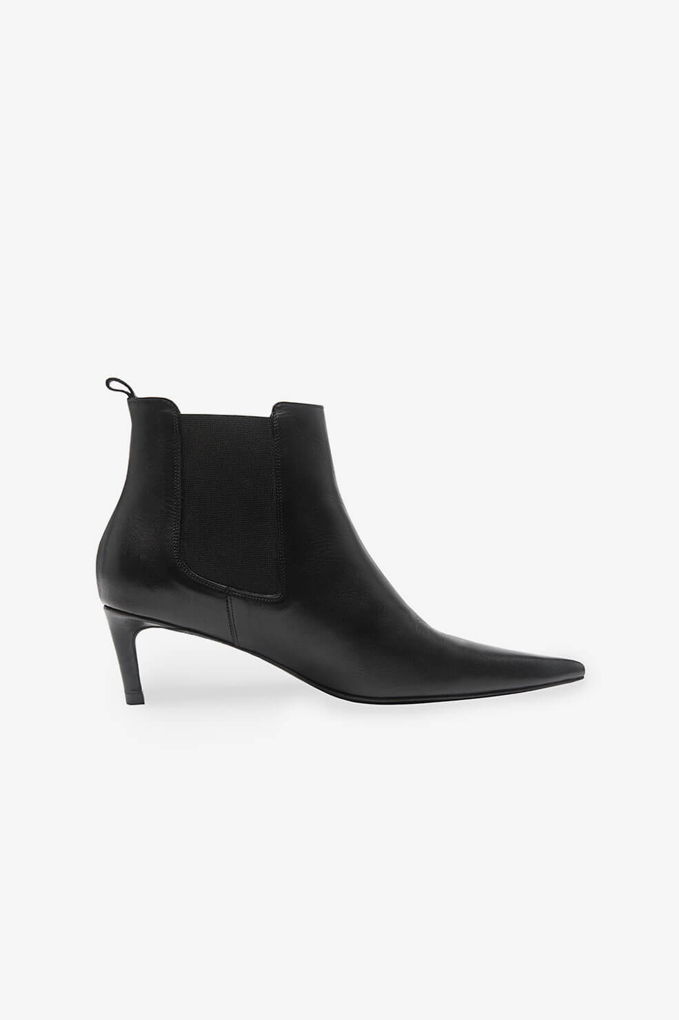 Stevie Boots - Black Leather