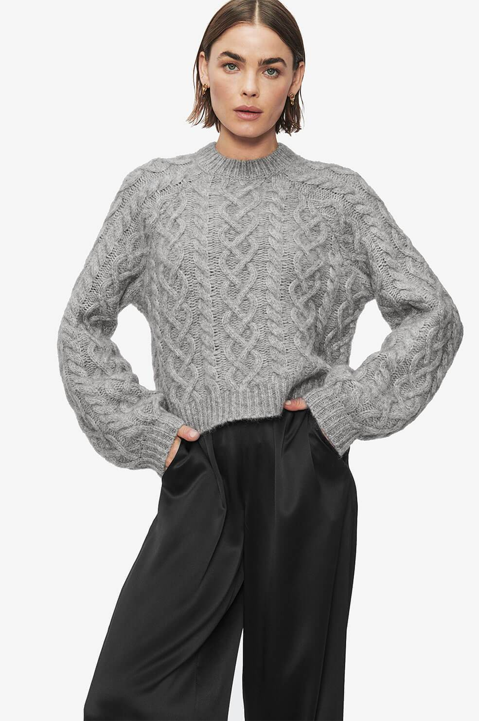 Aime Sweater - Grey