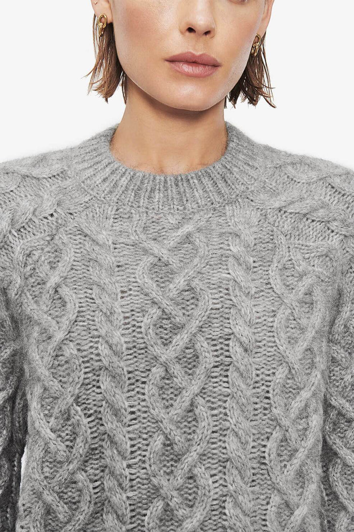 ANINE BING Aime Sweater - Grey