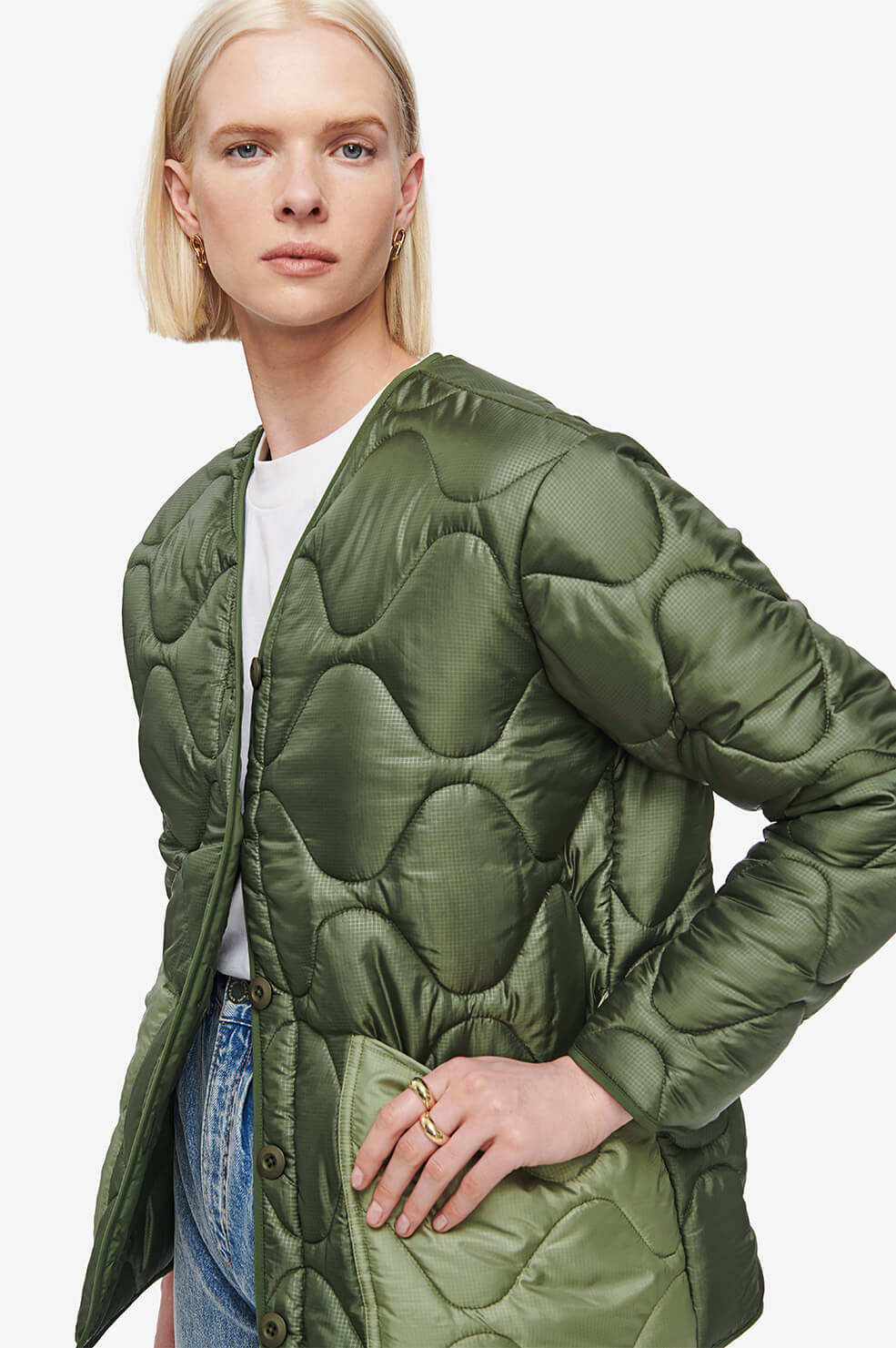 Andy Bomber - Military Green