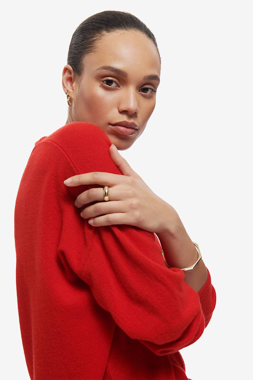 ANINE BING Aniya Sweater - Red