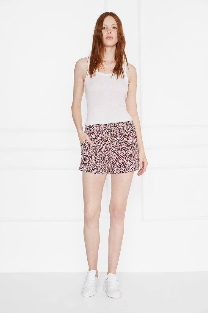 ANINE BING ASHLEY SHORTS - HEARTS