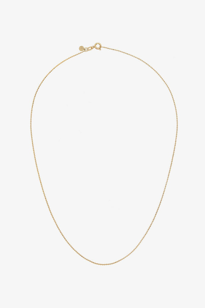 ANINE BING BEADED CHAIN NECKLACE