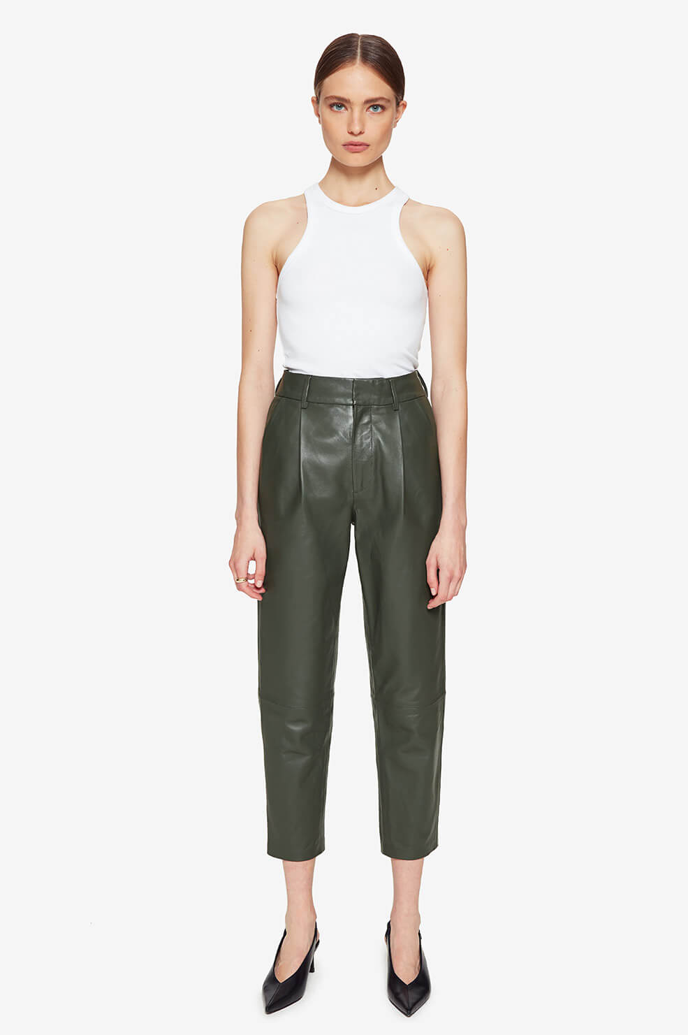 Becky Leather Trouser  product image