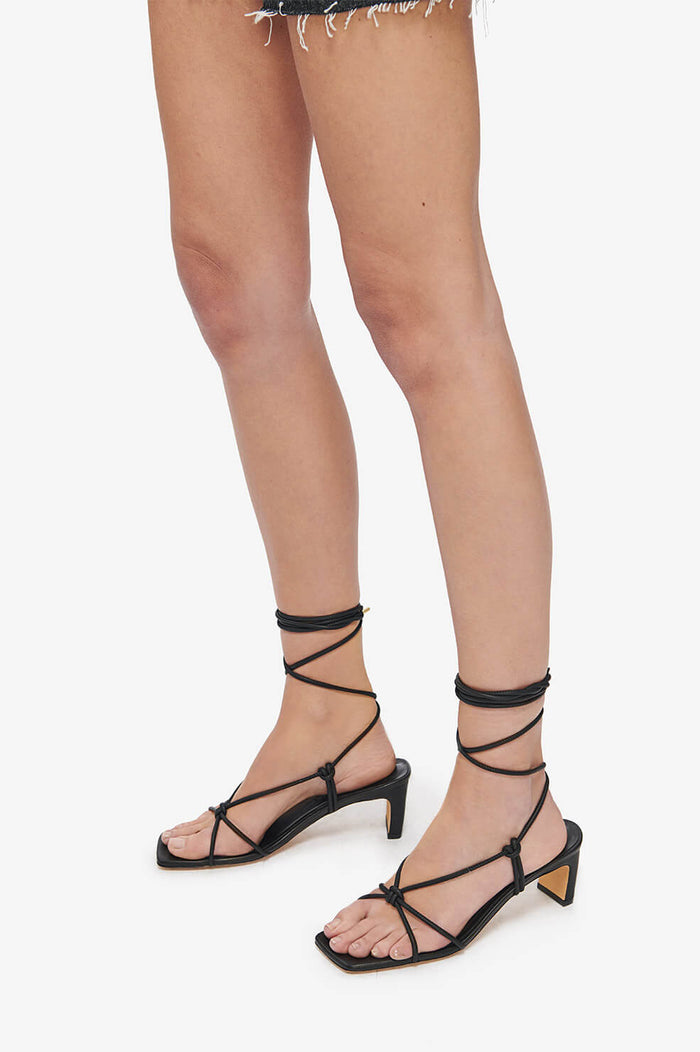 ANINE BING Graham Sandals - Black