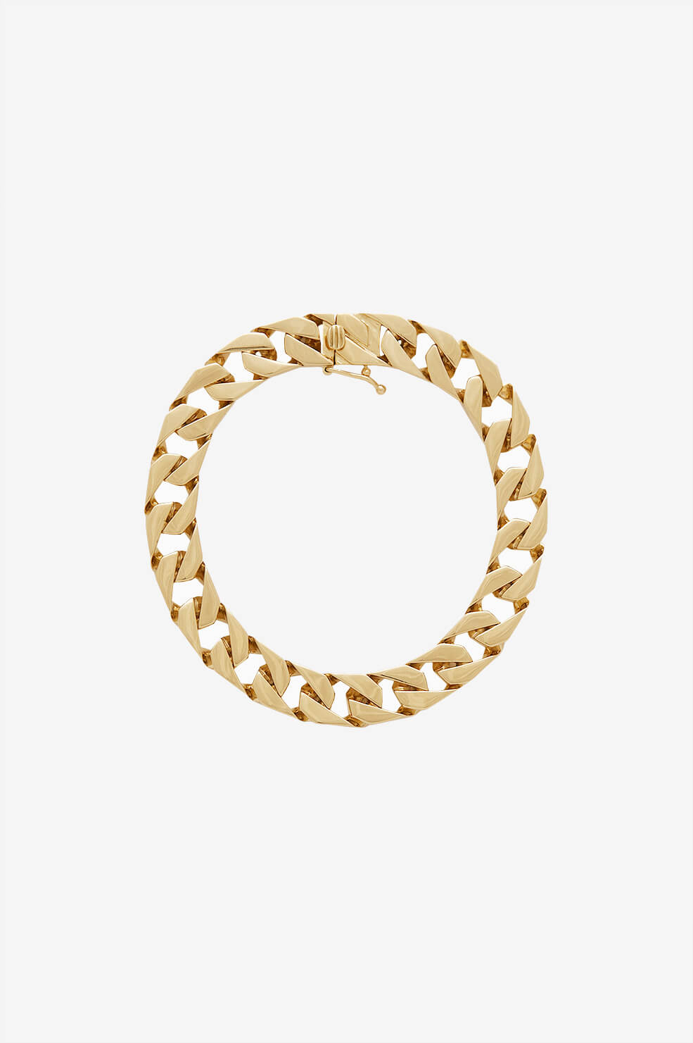 Curb Chain Bracelet - Gold