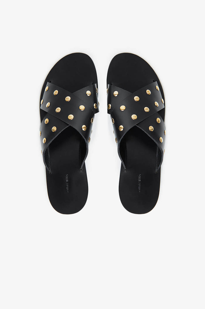 ANINE BING Ira Sandals - Black