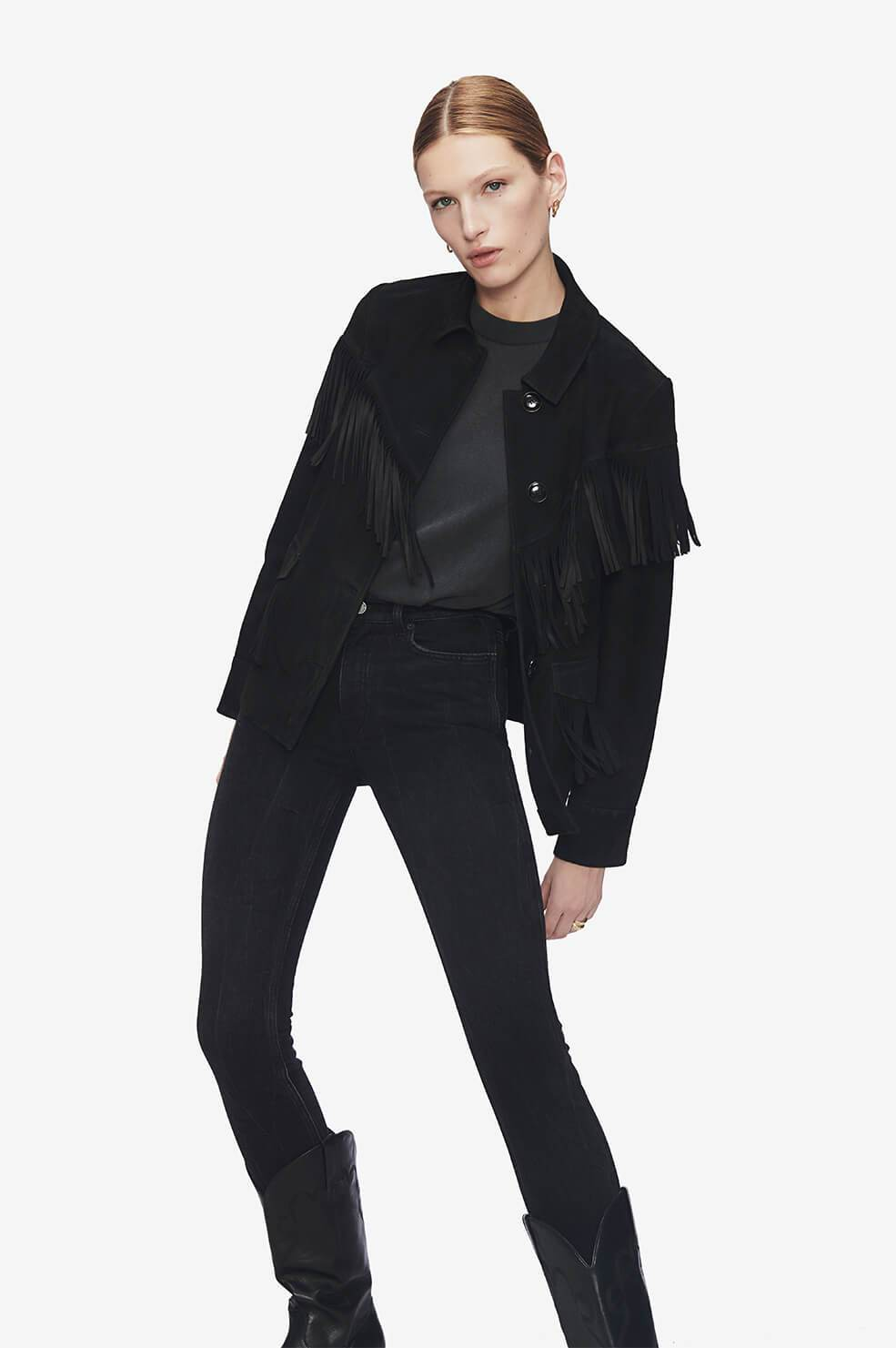 ANINE BING Jamison Jacket - Black