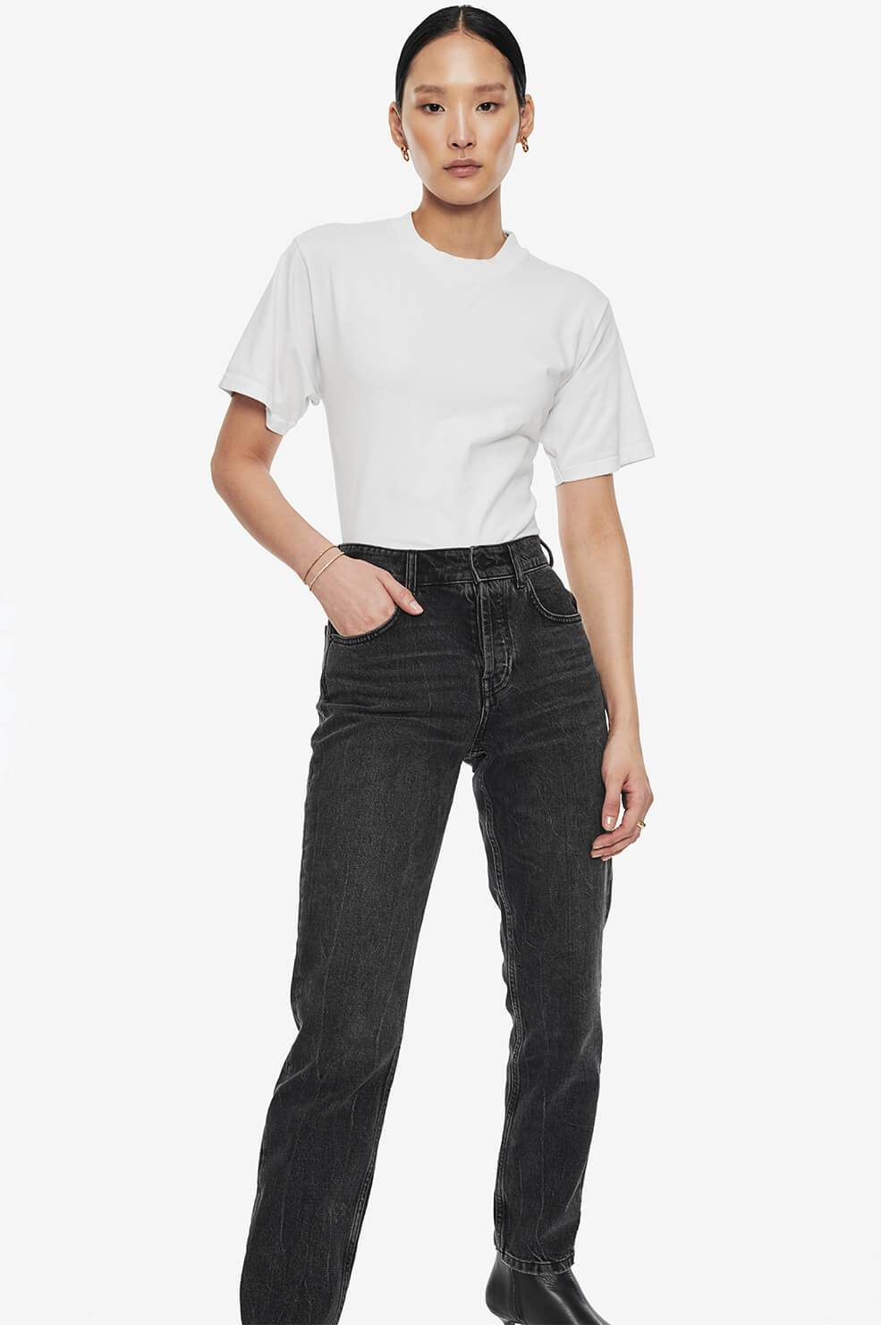 Lili Tee - Washed Black