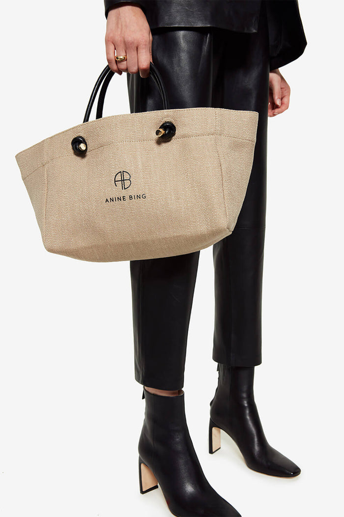 Mini Saffron Tote - Brown