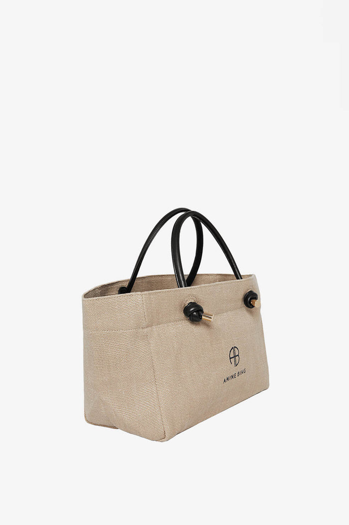 ANINE BING Mini Saffron Tote - Brown