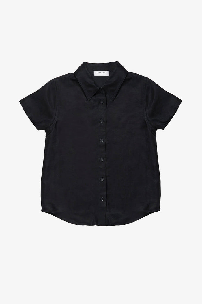ANINE BING KIDS Mini Bruni Shirt - Black
