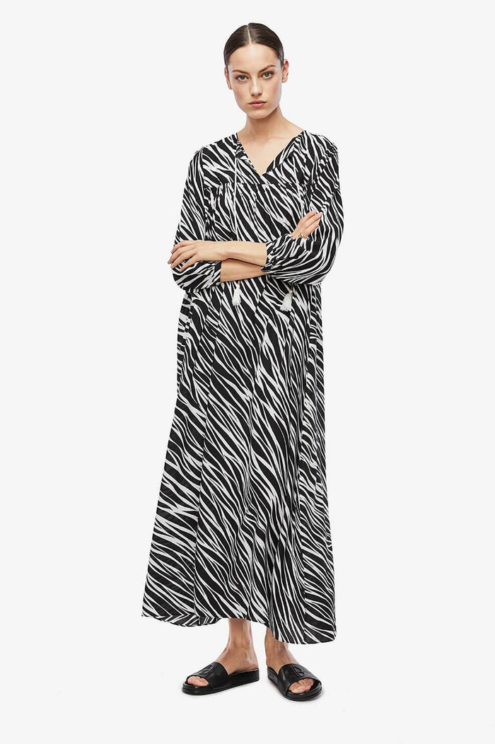 ANINE BING Darcy Dress - Zebra