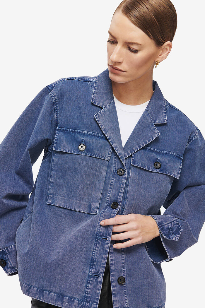 ANINE BING Sawyer Jacket - Blue