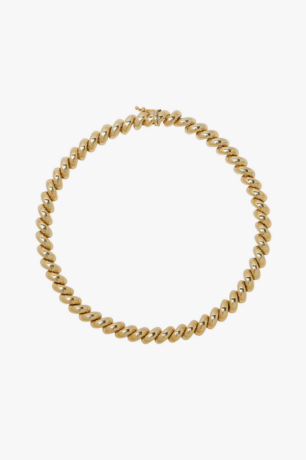 Spiral Necklace - Gold