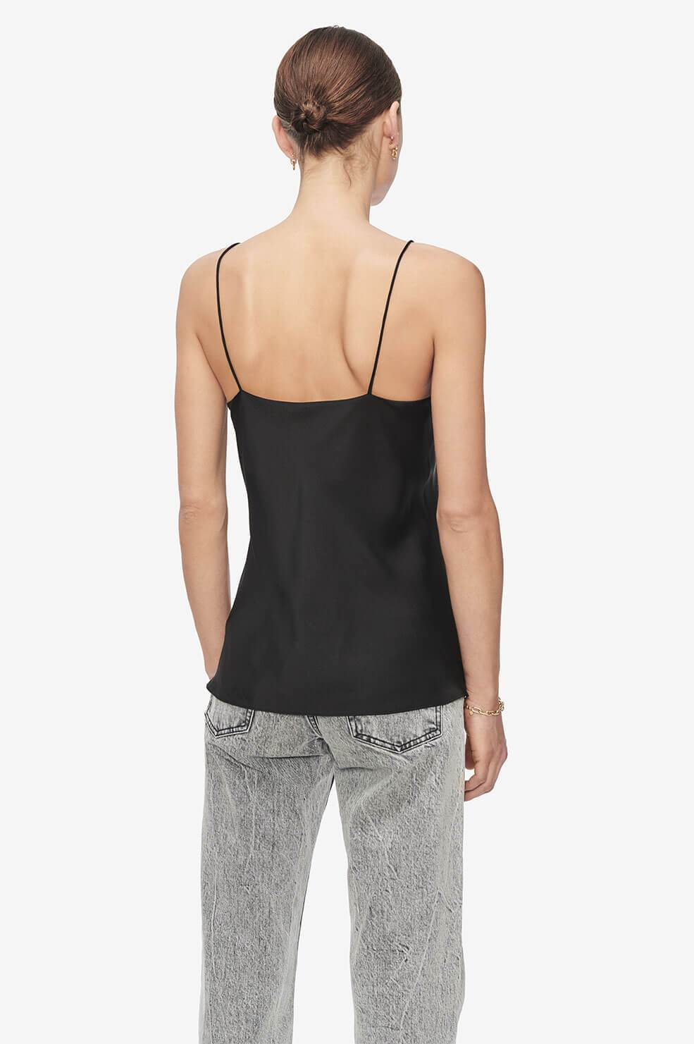 ANINE BING Taylor Camisole - Black