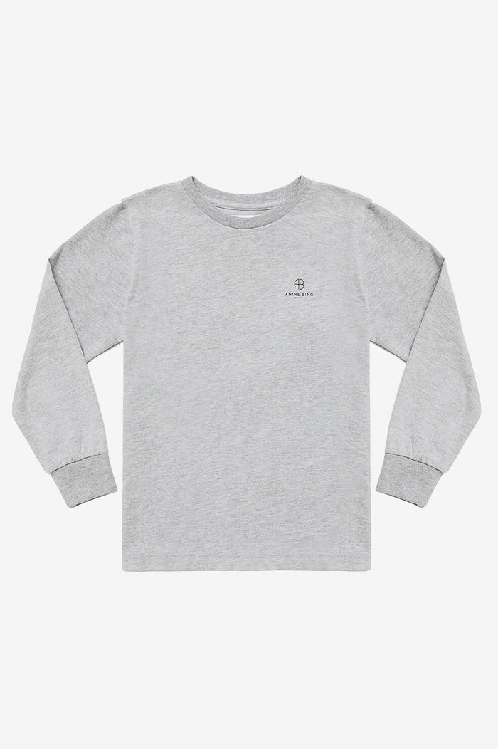 Mini Willow Tee - Heather Grey