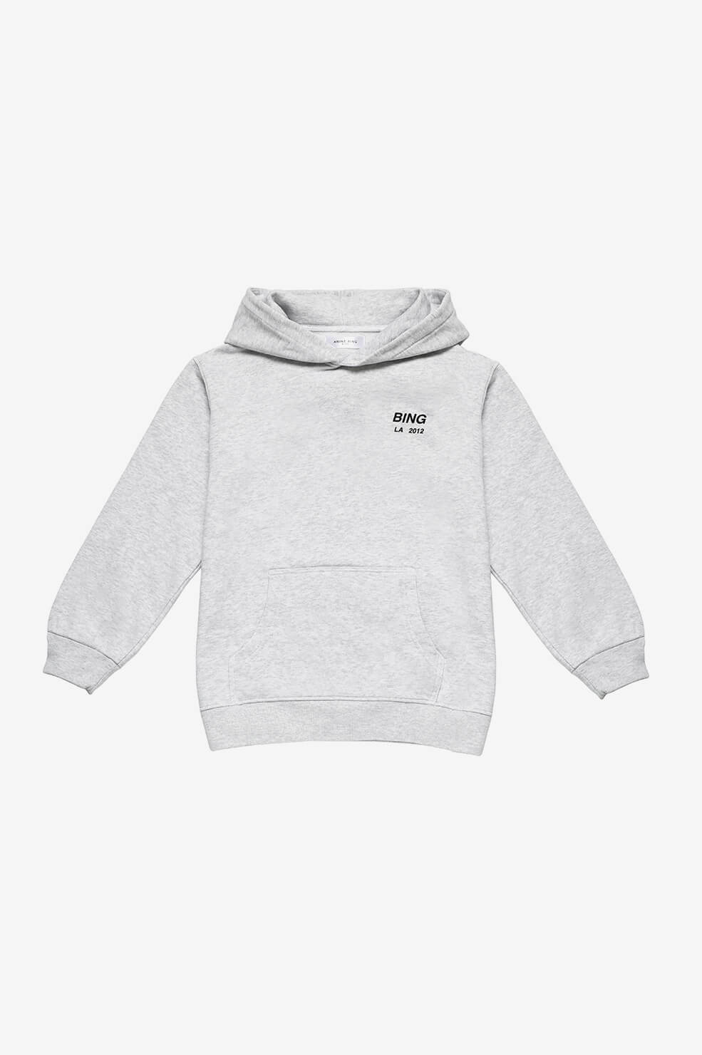 ANINE BING KIDS Mini Lottie Hoodie - Grey Melange