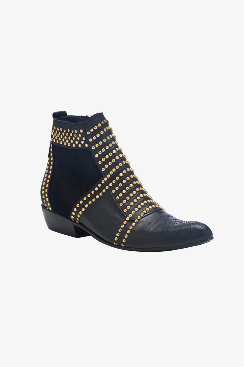 ANINE BING Charlie boots in gold
