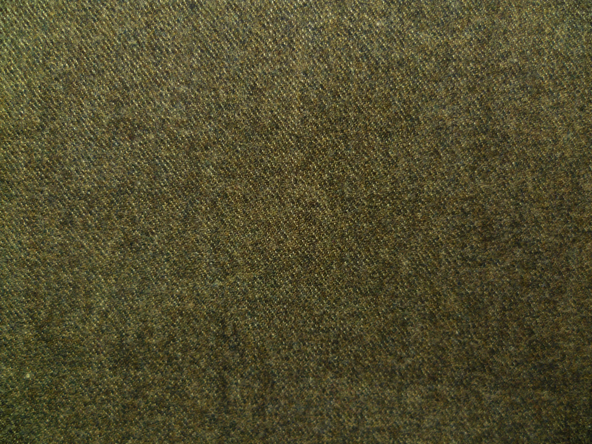 Moss Green-Grey Wool Donegal
