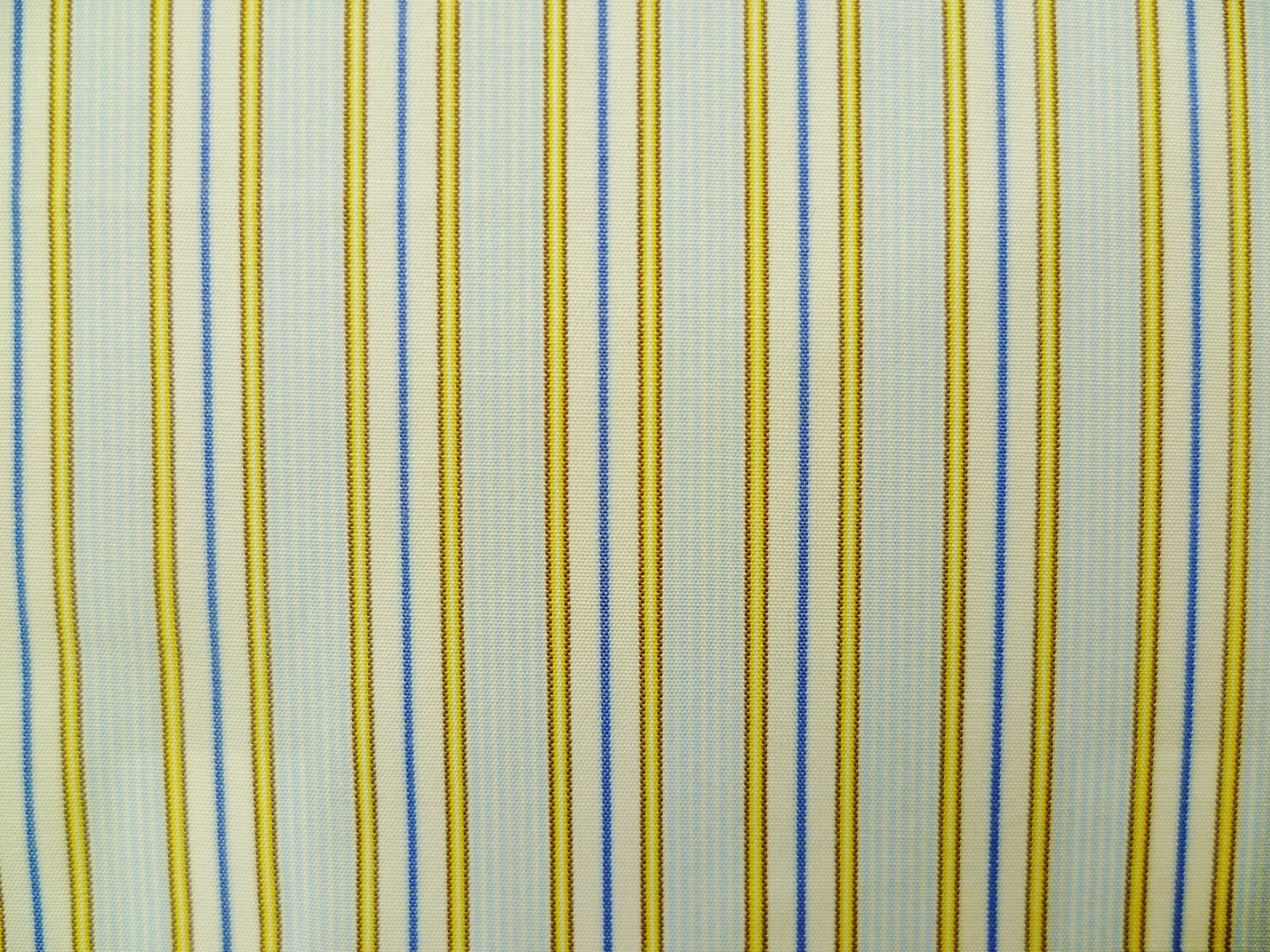 Yellow-Brown, Airforce Blue with Baby Blue and White Striped Cotton