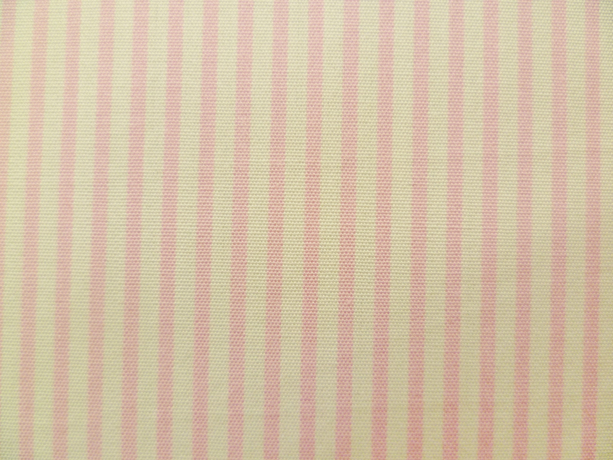 Soft Pink and White Striped Cotton