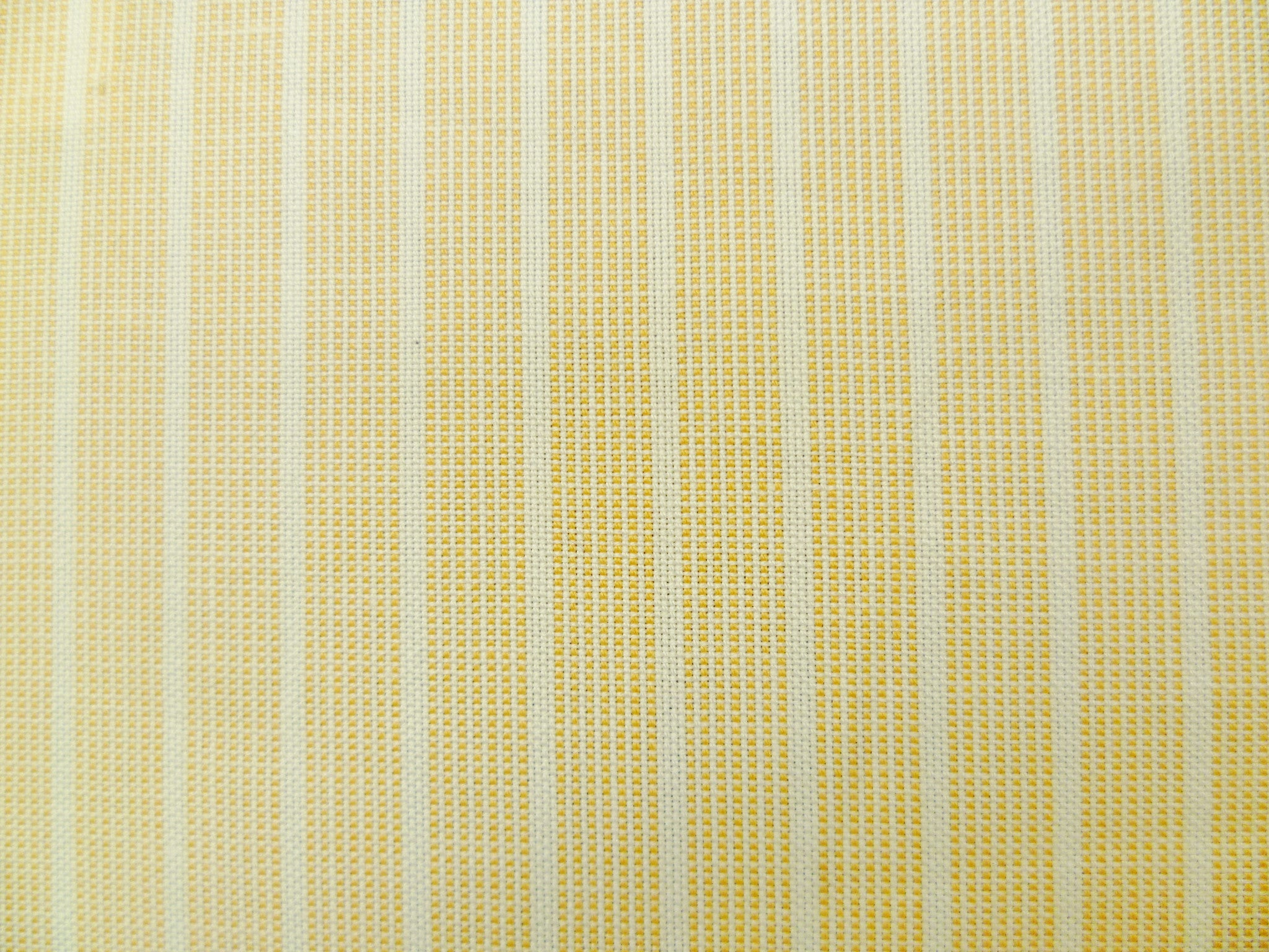 Tangy Orange Neatcheck and White Striped Cotton