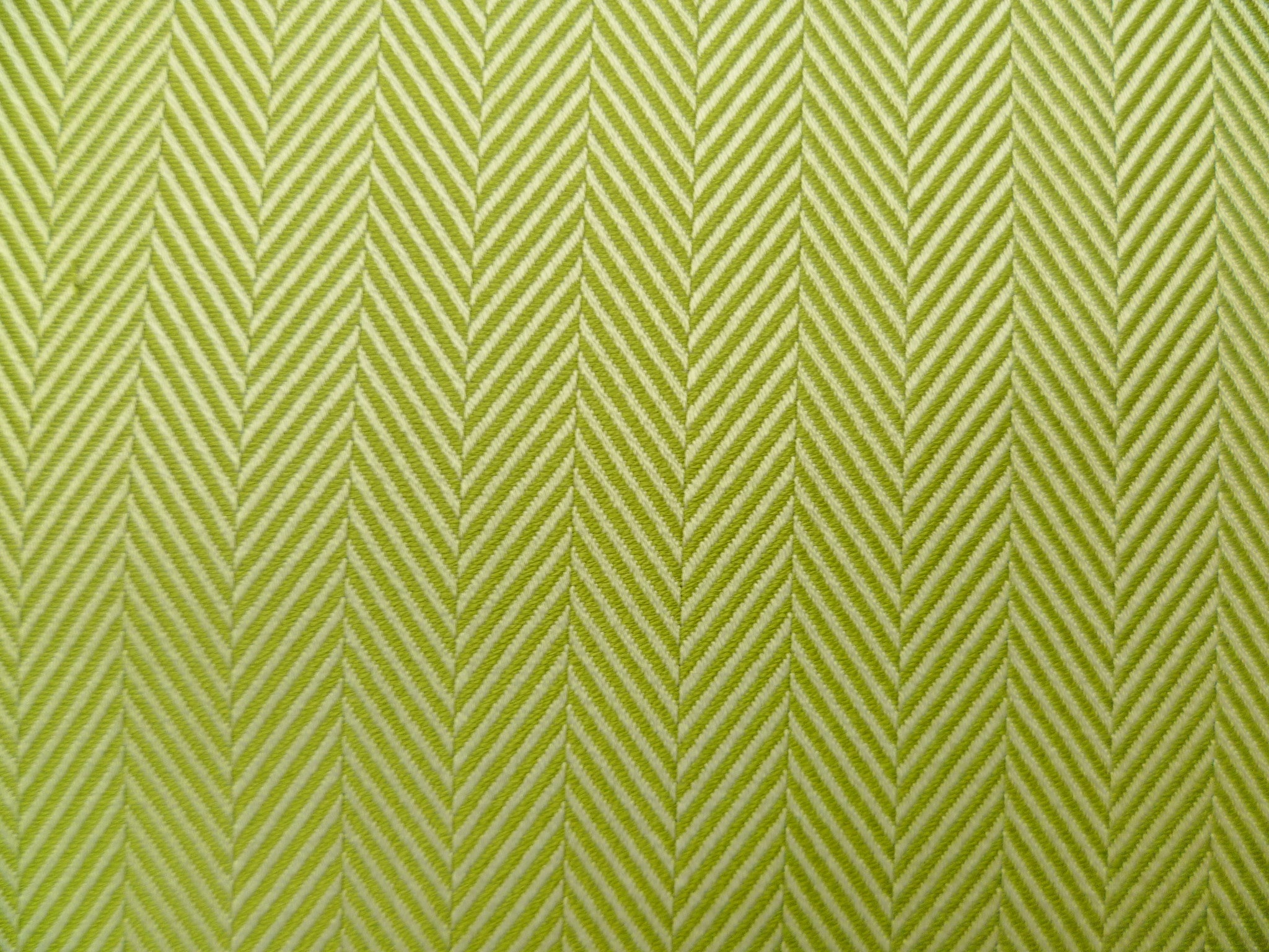 Olive Herringbone Cotton