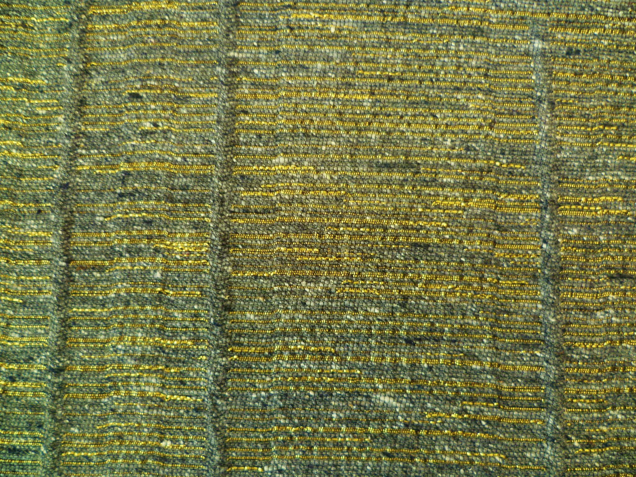 Mustard Grey and Granite Cotton-Linen-Silk